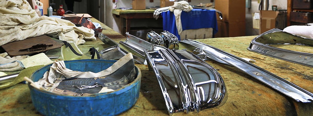 Graves Plating – Chrome, Nickel, Copper, Brass and Gold Plating